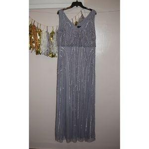 Nwot lilac/light purple tone Adrianna papell dress